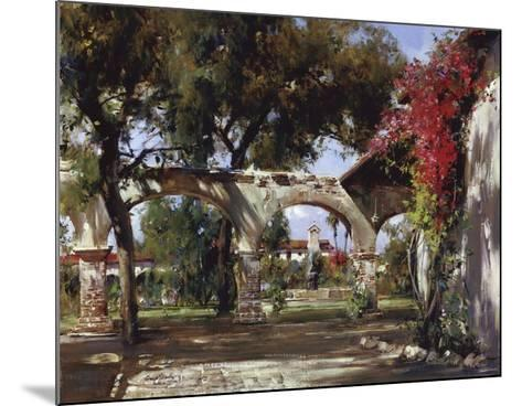 Mission Arches-Cyrus Afsary-Mounted Art Print