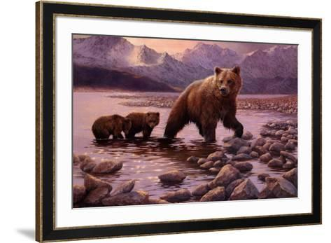 Evening Dip-Bonnie Marris-Framed Art Print