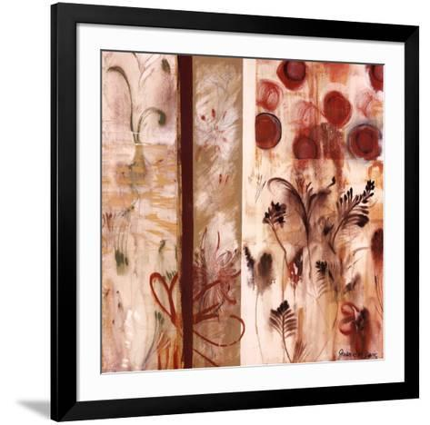 Autumn Sketch #6-Joan Elan Davis-Framed Art Print