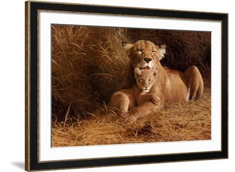 A Mother's Pride-W^ Michael Frye-Framed Art Print