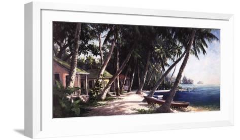 Island Haus Cottages-Art Fronckowiak-Framed Art Print