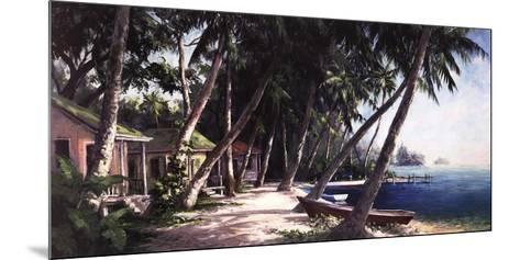 Island Haus Cottages-Art Fronckowiak-Mounted Art Print