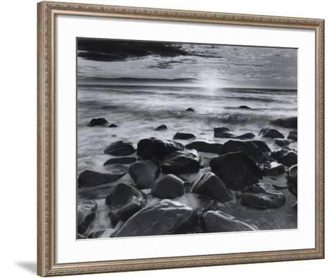 Winter Sunrise Montauk Coast #2-Richard Nowicki-Framed Art Print