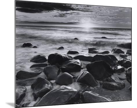 Winter Sunrise Montauk Coast #2-Richard Nowicki-Mounted Art Print