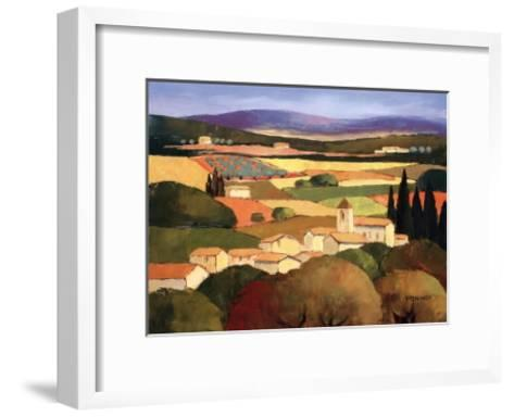 Le Clocher-Elisabeth Estivalet-Framed Art Print