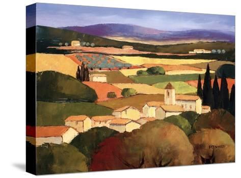 Le Clocher-Elisabeth Estivalet-Stretched Canvas Print