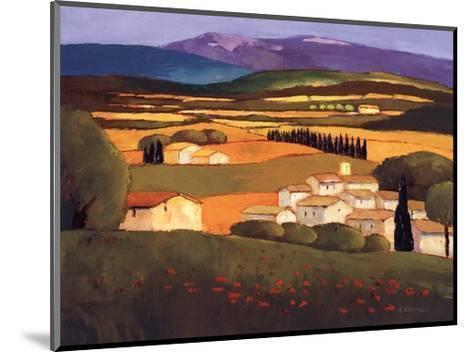 Village au Printemps-Elisabeth Estivalet-Mounted Art Print