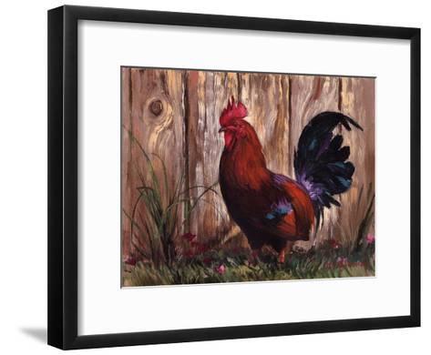 Bantie Rooster-Nenad Mirkovich-Framed Art Print