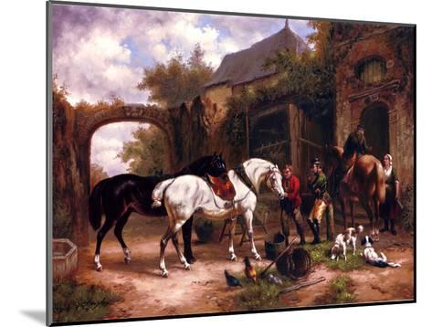 Before The Hunt I--Mounted Art Print
