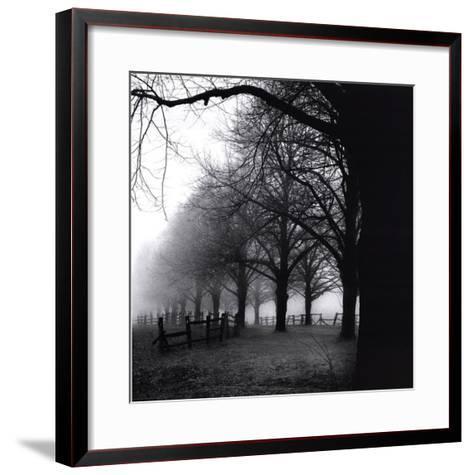 Black And White Morning-Harold Silverman-Framed Art Print