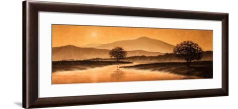 Sunrise Landscape I-Steve Bridger-Framed Art Print