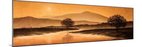 Sunrise Landscape I-Steve Bridger-Mounted Art Print