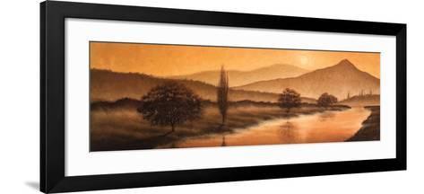 Sunrise Landscape II-Steve Bridger-Framed Art Print