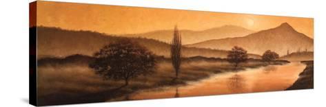Sunrise Landscape II-Steve Bridger-Stretched Canvas Print