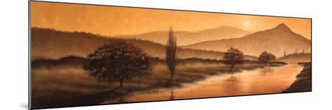 Sunrise Landscape II-Steve Bridger-Mounted Art Print