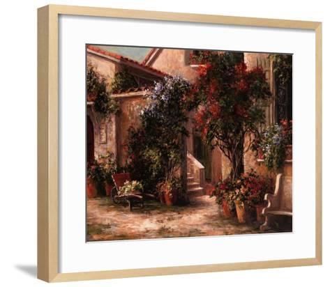Garden Court-Art Fronckowiak-Framed Art Print