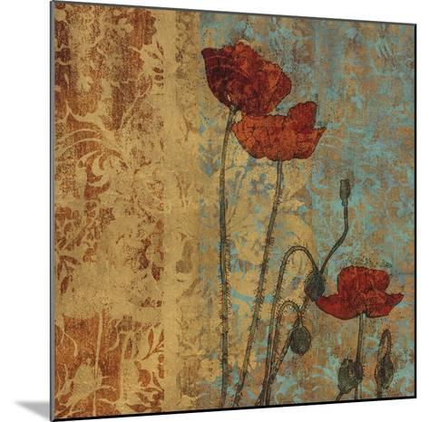 Poppy Pattern I-Eloise Ball-Mounted Art Print