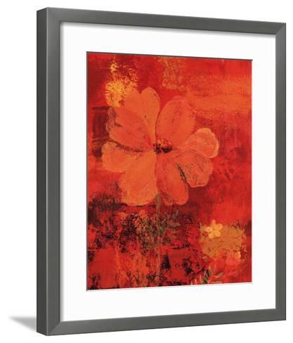Marigolds III-Lisa Ven Verloth-Framed Art Print