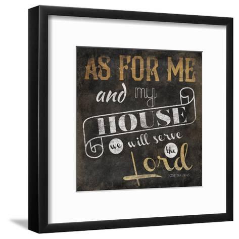 My House-Jace Grey-Framed Art Print