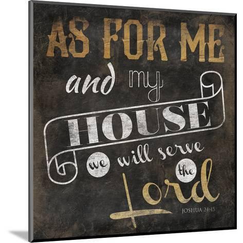 My House-Jace Grey-Mounted Art Print