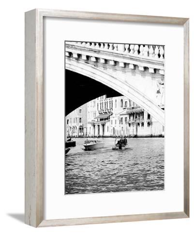 Venice Boat Ride-Jeff Pica-Framed Art Print