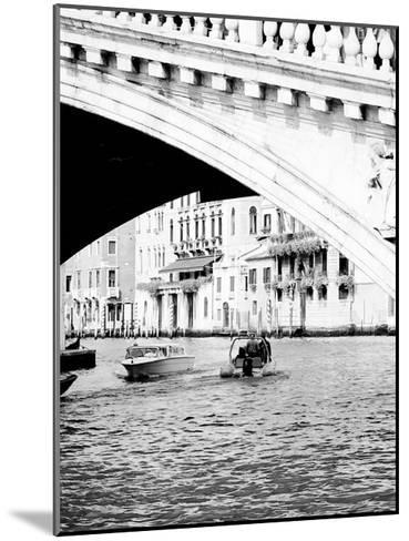 Venice Boat Ride-Jeff Pica-Mounted Art Print