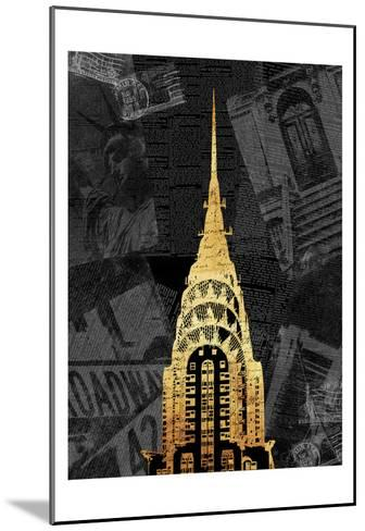 Gold NY Mate-Jace Grey-Mounted Art Print