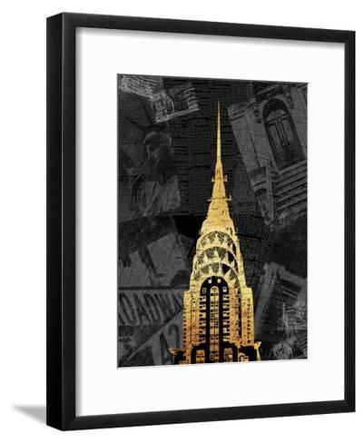 Gold NY Mate-Jace Grey-Framed Art Print
