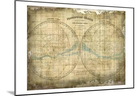 Constellation Map 1-Kimberly Allen-Mounted Art Print