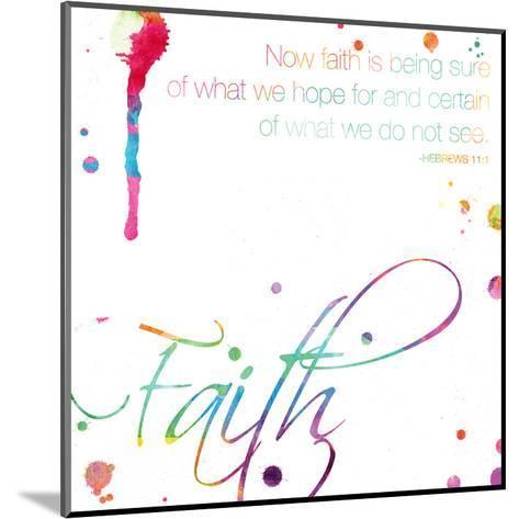 Faith-Jace Grey-Mounted Art Print