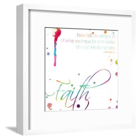 Faith-Jace Grey-Framed Art Print
