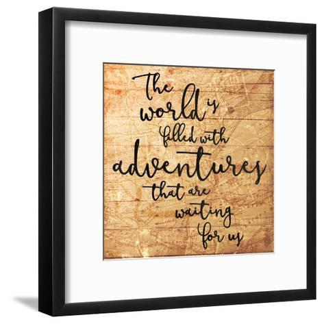 Adventures-Jace Grey-Framed Art Print