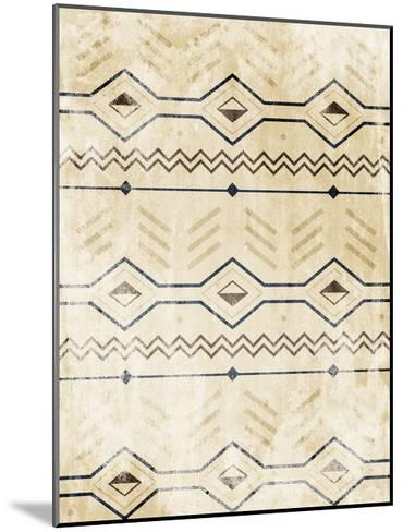 Lodge Patterned-Jace Grey-Mounted Art Print