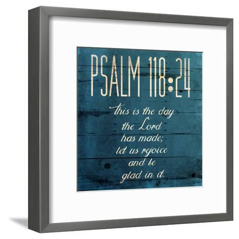 This Is The Day Clean-Jace Grey-Framed Art Print