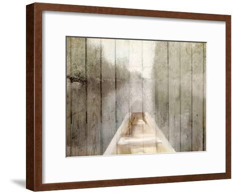 Canoe Tip-Kimberly Allen-Framed Art Print
