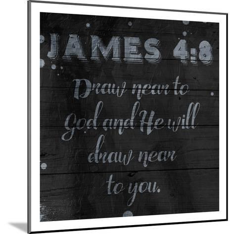 Draw Near-Jace Grey-Mounted Art Print