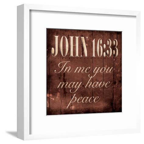 You May Have Peace-Jace Grey-Framed Art Print