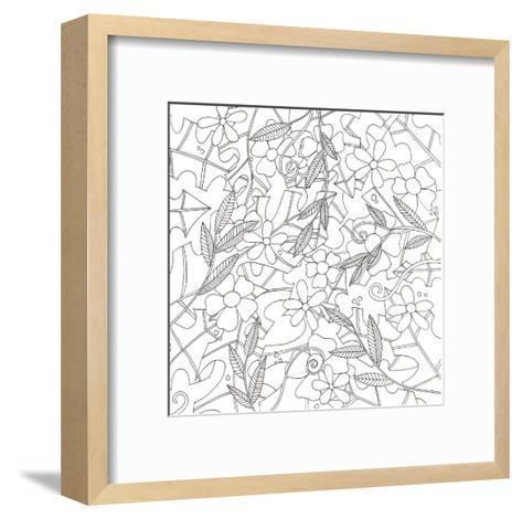 Spring Time Bouquet-Pam Varacek-Framed Art Print