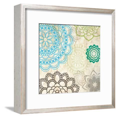 Sparklers Floral 1-Melody Hogan-Framed Art Print