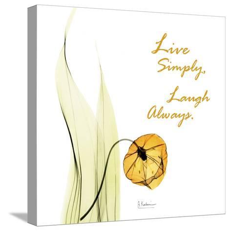 Live Laugh Sandersonia H51-Albert Koetsier-Stretched Canvas Print