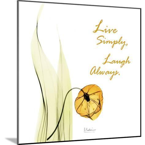 Live Laugh Sandersonia H51-Albert Koetsier-Mounted Art Print