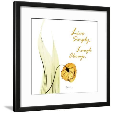 Live Laugh Sandersonia H51-Albert Koetsier-Framed Art Print