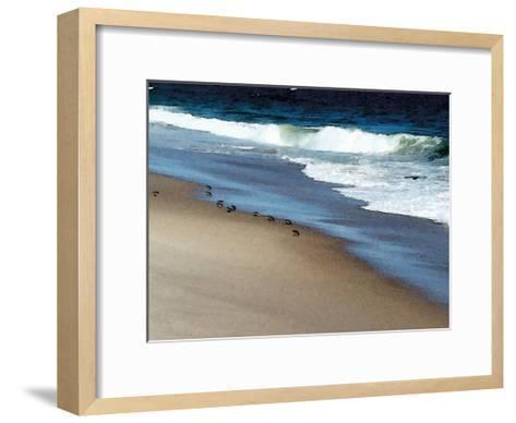 West Coast Shore-Jeff Pica-Framed Art Print