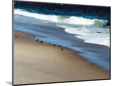 West Coast Shore-Jeff Pica-Mounted Art Print