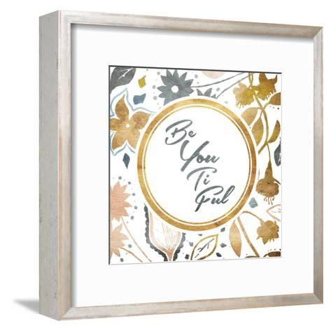 Be You-Jace Grey-Framed Art Print