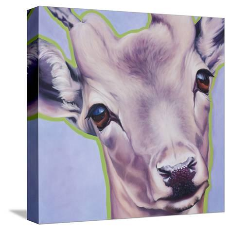 Lilac Deer 82490-May May-Stretched Canvas Print