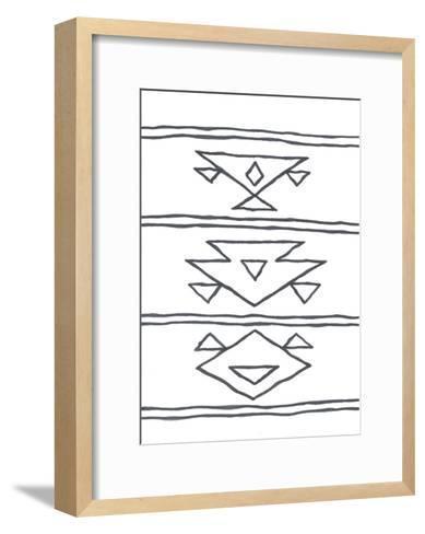 Angular Tapestry 3-Marcus Prime-Framed Art Print