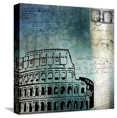 Roman Blue-Kimberly Allen-Stretched Canvas Print