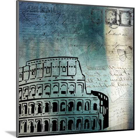 Roman Blue-Kimberly Allen-Mounted Art Print