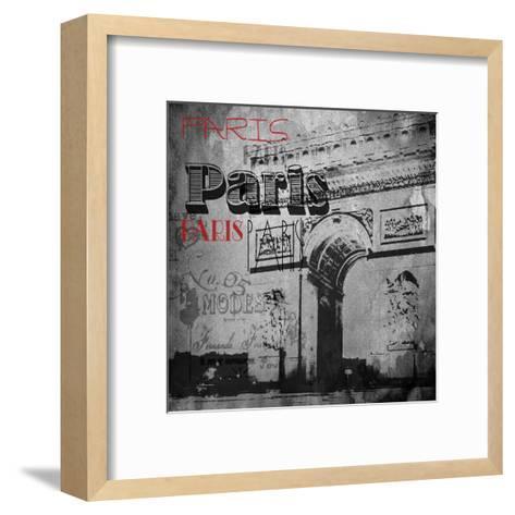 Paris Arc Victorian-Jace Grey-Framed Art Print